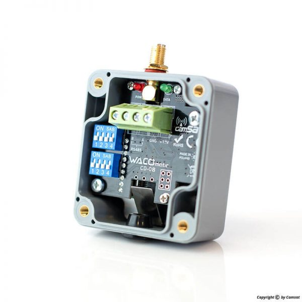 Wireless transmitters, PTZ controls, telemetry RS485/232