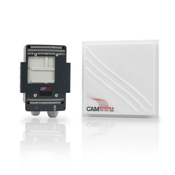 TVI CVI AHD wireless video transmission set