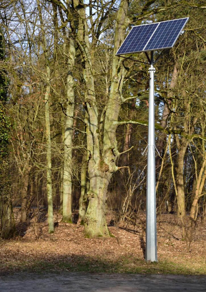 Zasilanie solarne do kamer CCTV CAMSAT