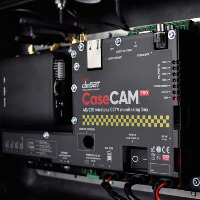 CaseCAM-PRO battery case with 4G LTE for video surveillance